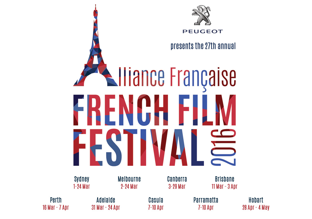 Poster for French Film Festival