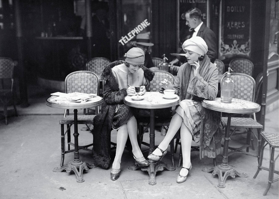 Cafe in Paris 1925