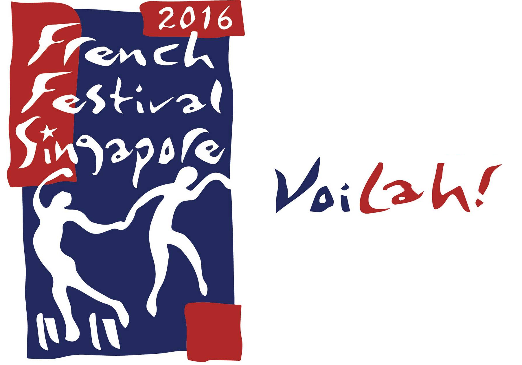 The Voilah Singapore festival logo
