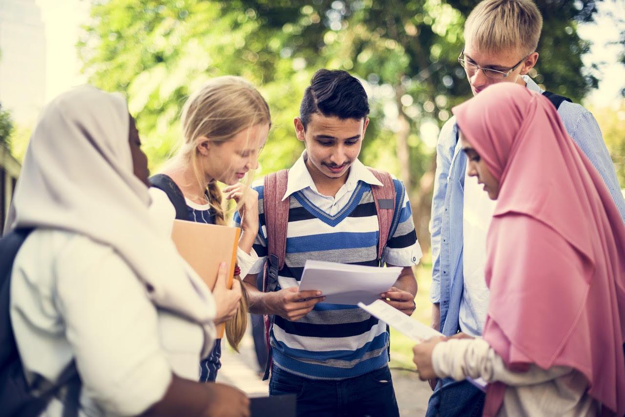 Students in Dubai